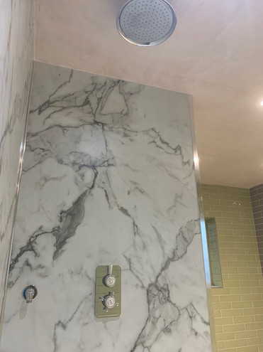 Marble Shower Cubicle