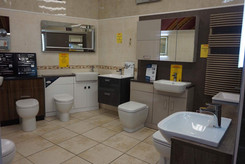 Toilets In Our Showroom