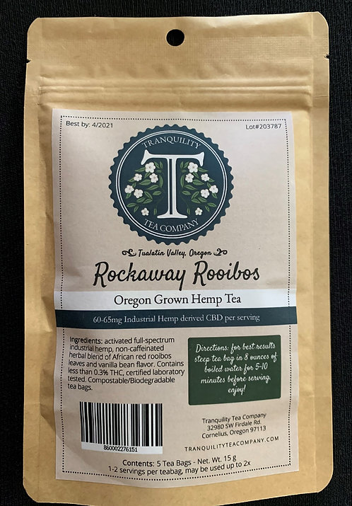 CLOSE OUT- 55% OFF- Rockaway Rooibos (300-650mg CBD per package)