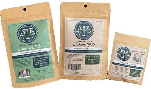 Tranquility Tea Company CBD Hemp Tea 60-600mg CBD per/package (Wallowa White)