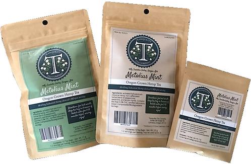 Tranquility Tea Company  CBD Hemp Tea 60-600mg CBD per/package (Metolius Mint)