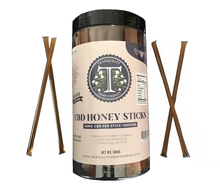 CBD Honeysticks 4,000mg 100 pack canister
