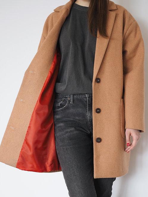 Пиджак из пальтовой шерсти