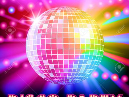 Kinderdisco voor kinderen van groep 3, 4 & 5 - zaterdag 21 november, 18:45 tot 20:30 uur