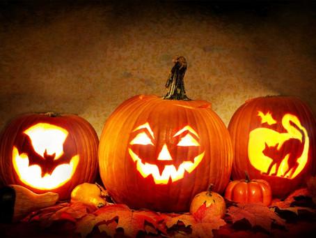 Halloween - zaterdag 2 november, 18:30 tot 21:00 uur