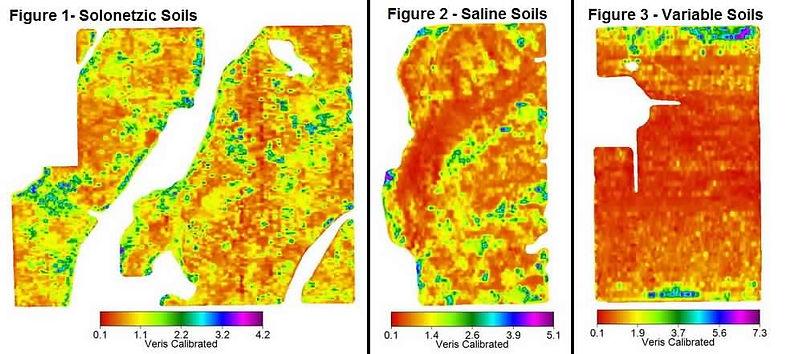 Veris MAPS, Solonetzic Soil Map, Saline Soil Map, Variable Soil Map