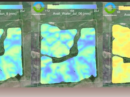 Managing Spatial and Seasonal Soil Moisture Variability with SWAT WATER
