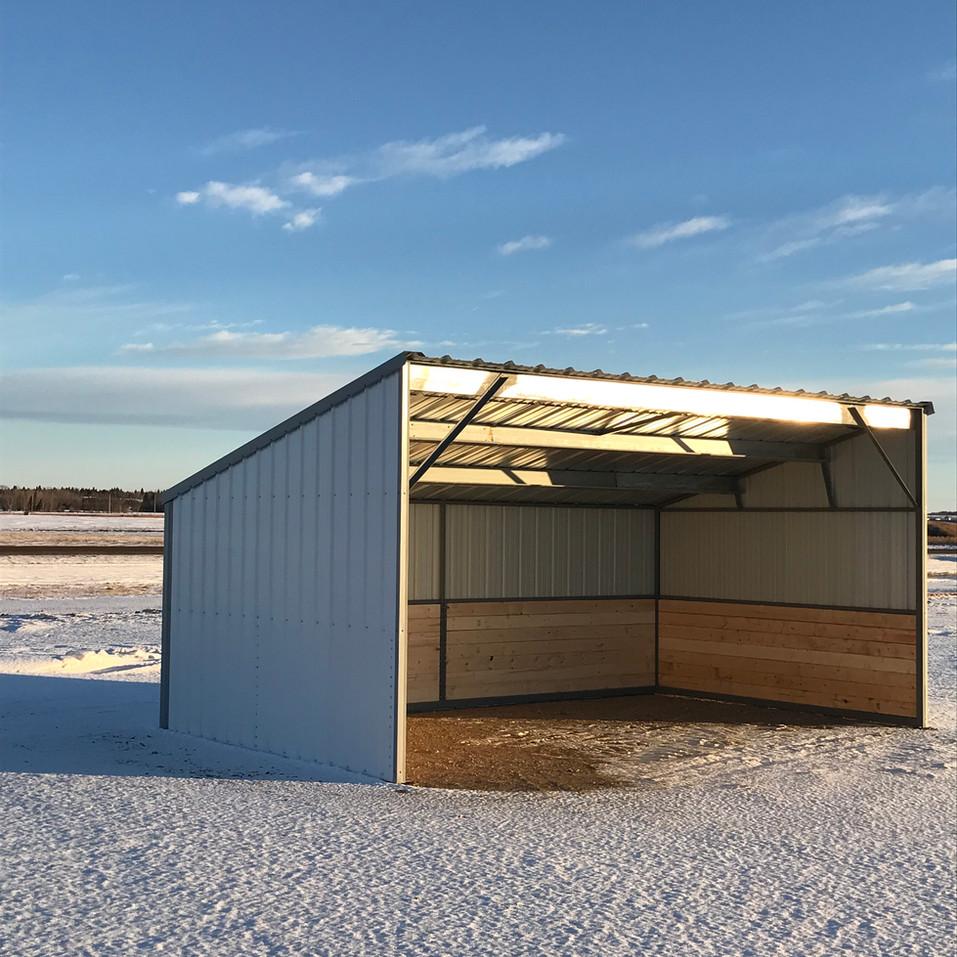 Livestock Shelter Mel-View Metal