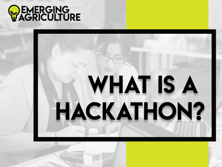 Ever heard of a hackathon?
