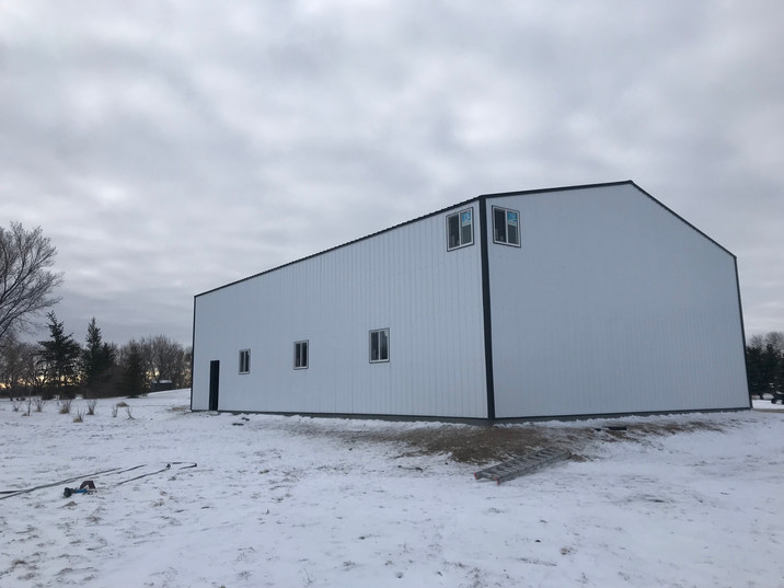 Pre-engineered shops and garages