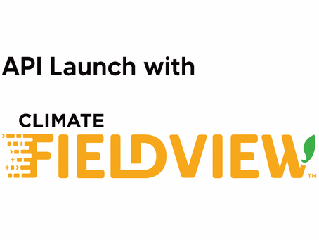 Croptimistic and Climate FieldView Launch API: Full Release Now Available