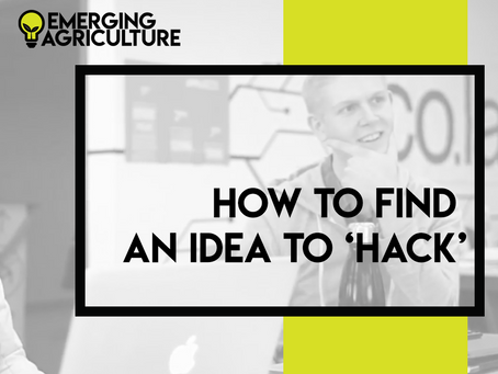 How to Find an Idea to 'HACK'