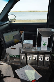 Soil Testing, Soil Sampling, Trucks, Agvise, Wintex