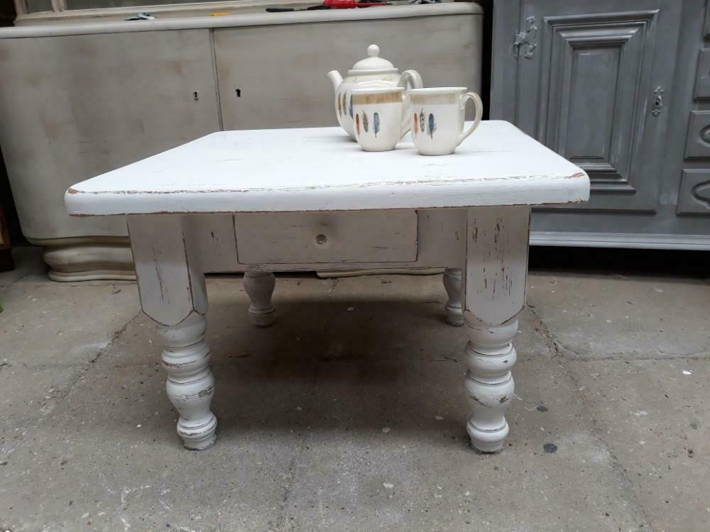 Gerestylde Side Table.Salon Tafel