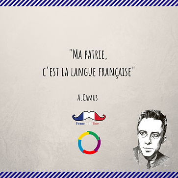 French quote Albert Camus