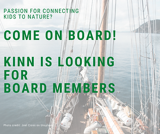 Come on board! KINN is looking for board