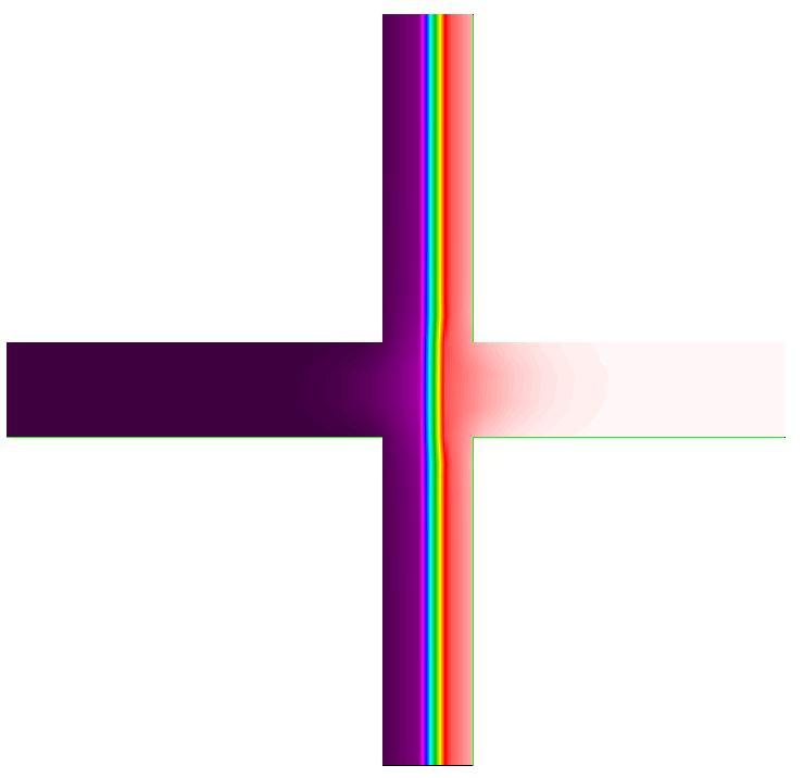 gráfico infrarrojos puente térmico