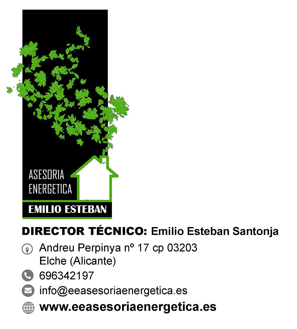 informacion de contacto E. Esteban Asesoria Energetica