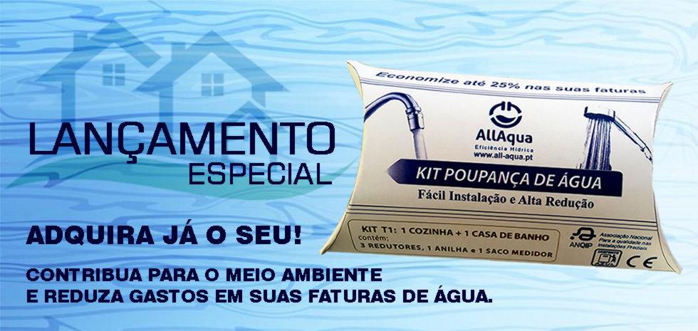 kit poupança de água, redutores de caudal em, portugal