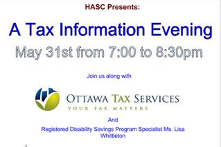 Tax Information Evening Follow Up