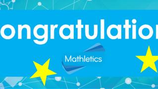 Congratulations to our Mathletics Mathletes!
