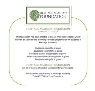 Heritage Academy Foundation
