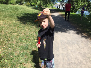 You & Me Go Fishing In The Park