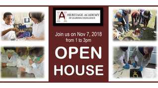 Open House - November 7th, 2018