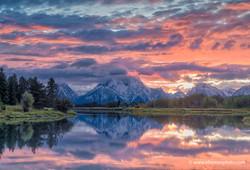 Sunset, Grand Teton