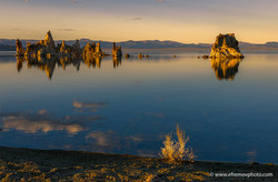 Mono Lake, sunset