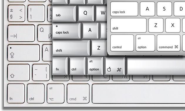 keyboard, Mac