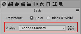 Adobe Camera Raw, Profile, Adobe