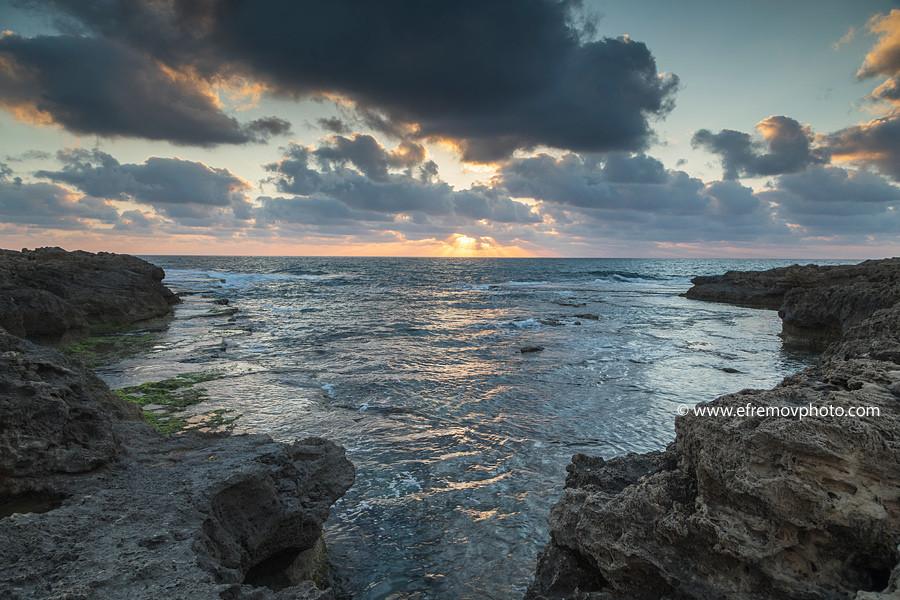 Закат, съёмка без фильтра