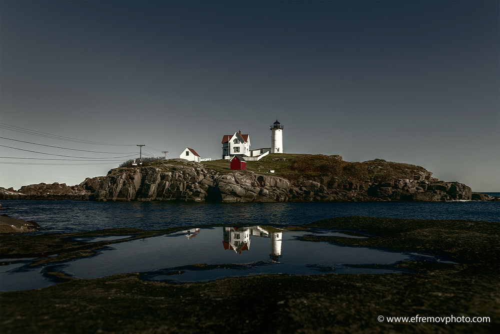 Nubble Lighthouse, Cape Neddick, USA