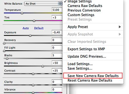 Собственные настройки по умолчанию в Adobe Camera Raw (версия 12.2)и Lightroom Classic (версия 9.2)