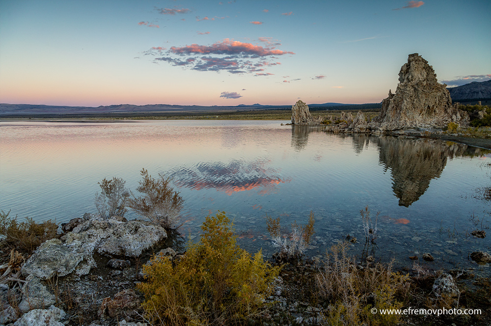 Mono Lake, sunset 2