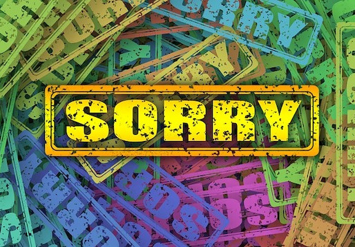 "Let's Move Beyond the ""I'm Sorry"" Culture We Live In"