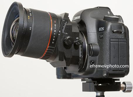 Samyang Tilt-Shift 24mm. Обзор объектива на практике