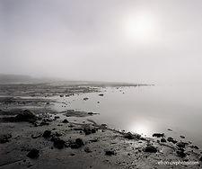 sky, sun, fog, water