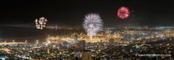 Salute in Haifa