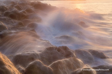 sea, storm, wave, sunset, spray, stones, surf