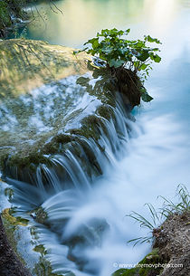 waterfall, water, lake, bush, Croatia, filter, stream, summer, yellow, flow, current, stream, flowing, progress, tide