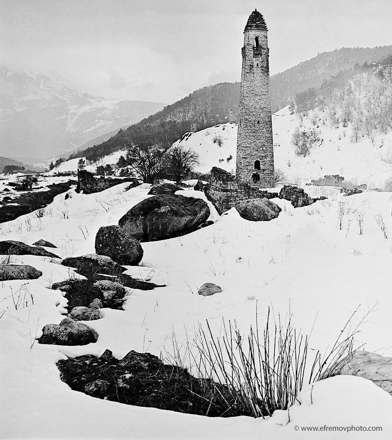 Tower. Winter