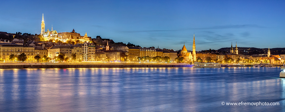 Evening in Budapest