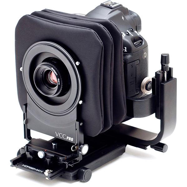 Адаптер Horseman VCC с камерой Canon