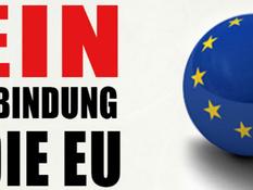 NEIN zum schleichenden EU-Beitritt!
