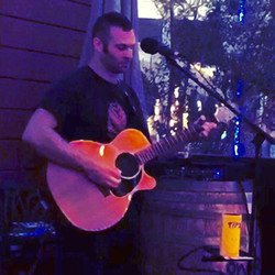 Performing at Sonoma Wine Garden
