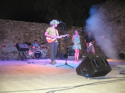 Performing at the GrECO Festival