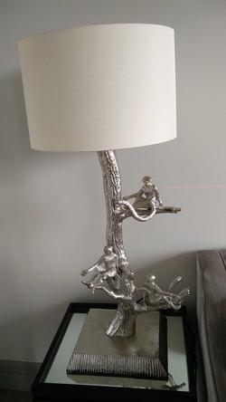 monkey lamp - final touches