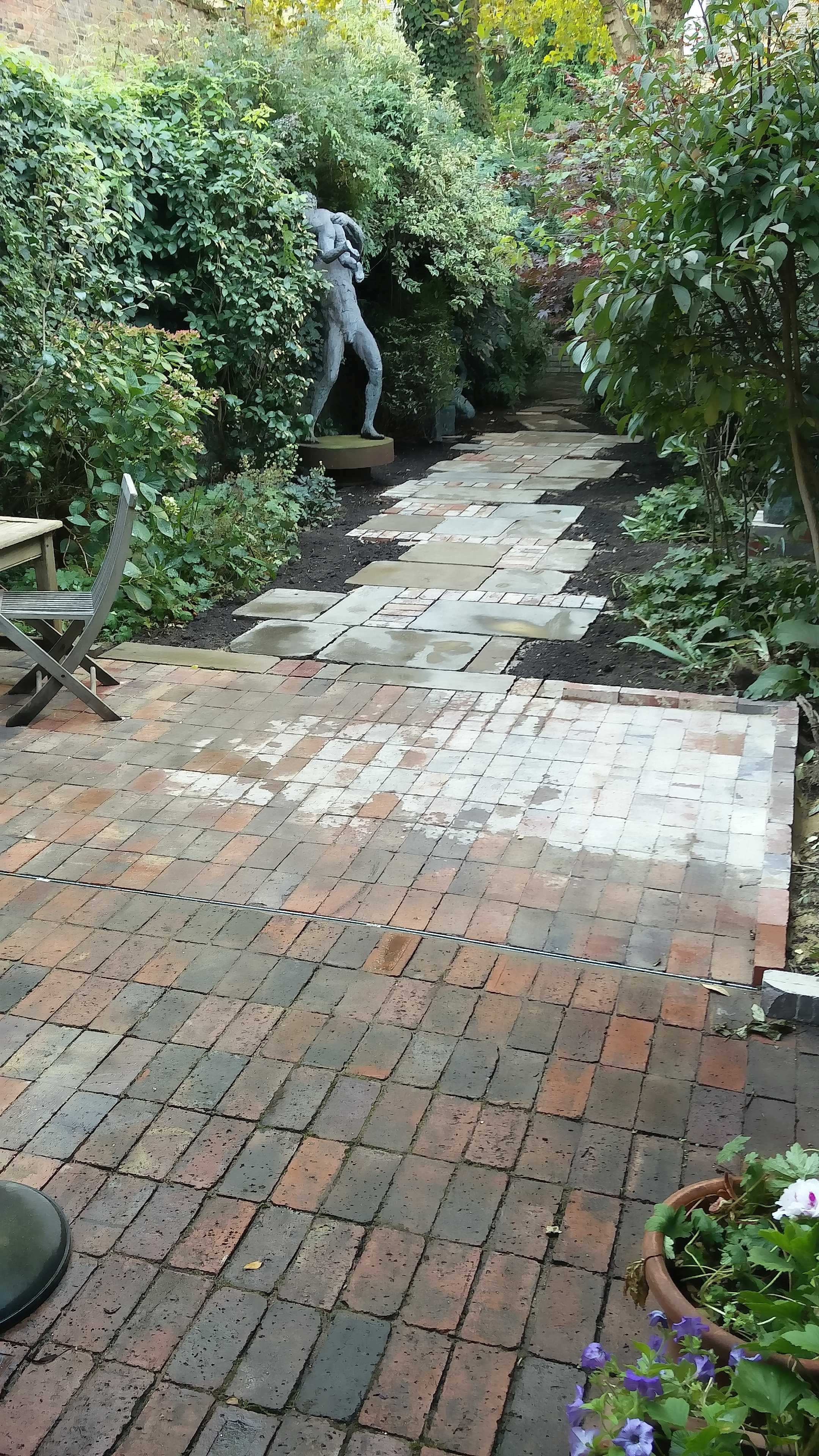 from patio to path